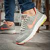 Кроссовки женские Nike Zoom Pegasus, серые 16003, фото 4
