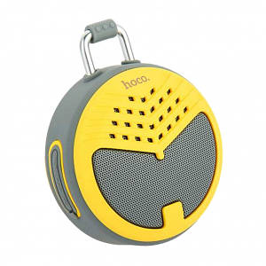 Колонка HOCO BS17 charming sound Bluetooth Grey-yellow