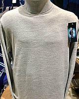 Гольф (водолазка) мужской, светло-серый