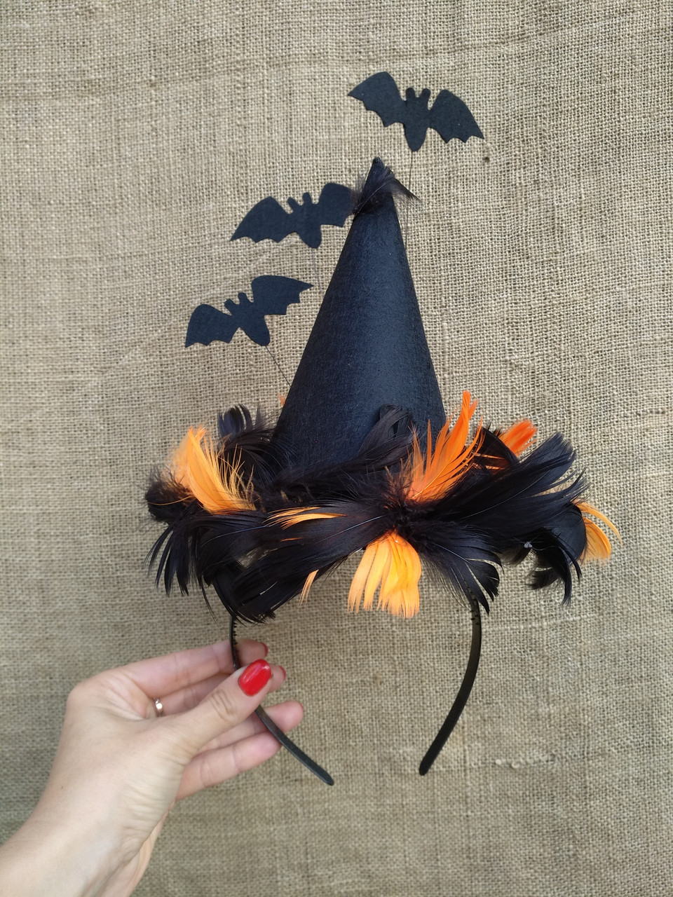 Шляпка на Хеллоуін