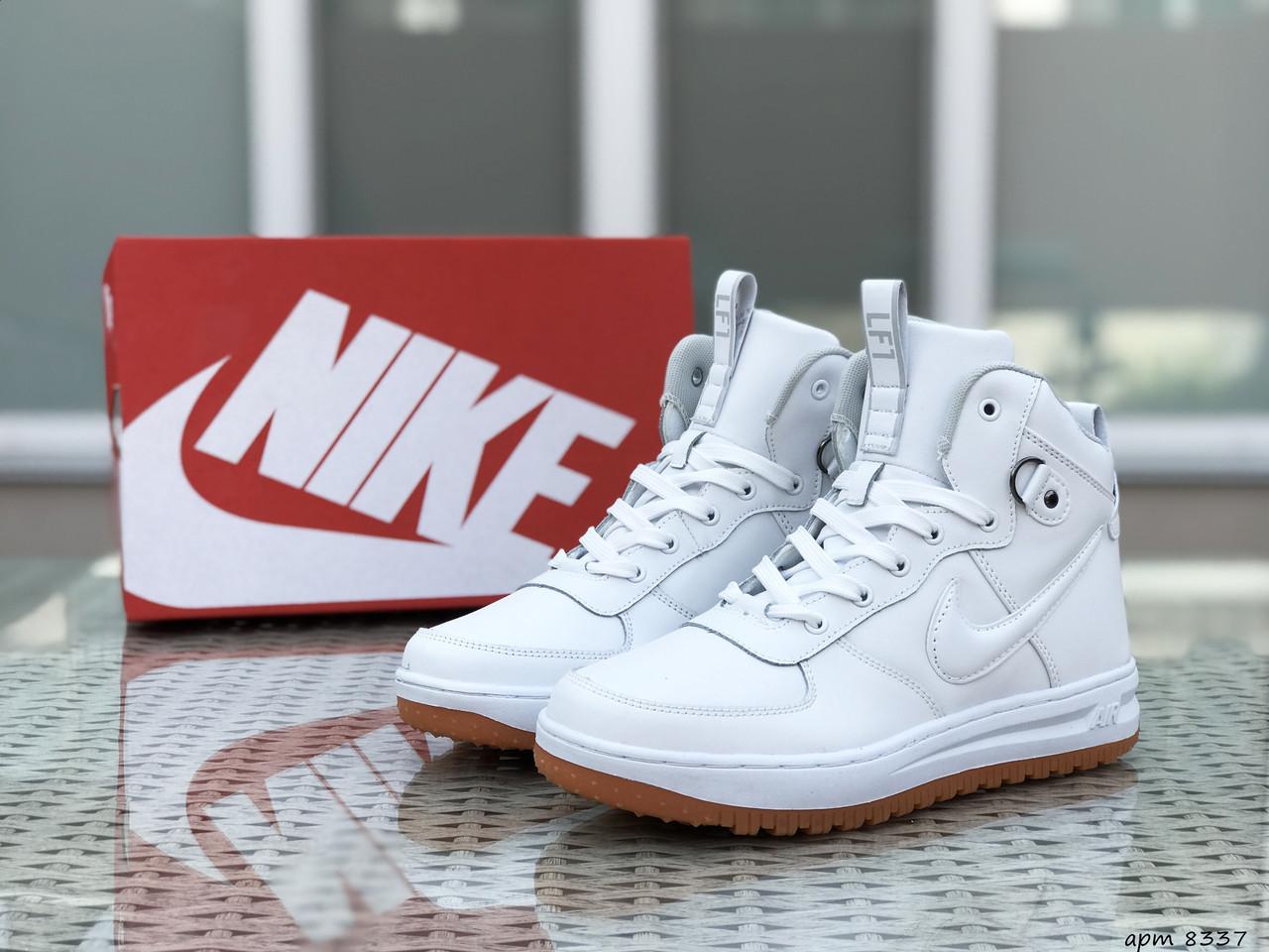 Кроссовки мужские Nike Lunar Force 1 белые