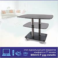 Журнальный стол Bravo Pggg chr, фото 1