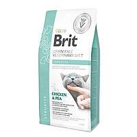 Brit Veterinary Diet Cat Grain free Struvite 0,4кг - беззерновая диета при МКБ