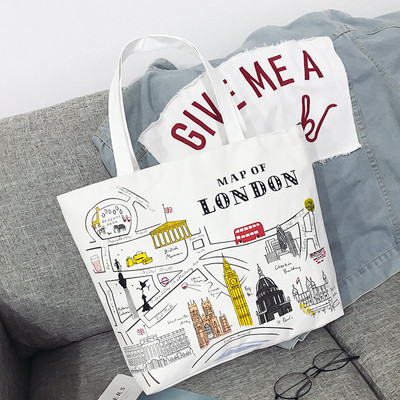 Эко-сумка белая London