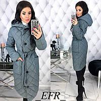 Демисезонная куртка-пальто женская
