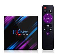 ТВ Бокс H96 MAX RK3318 4/64 GB Смарт ТВ приставка - 4K Android 9 купить