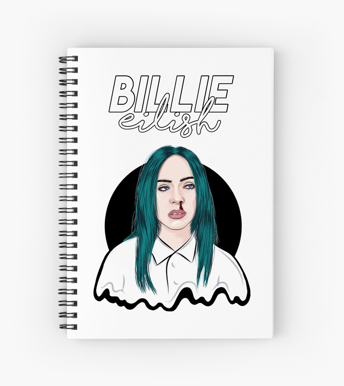 Блокнот Billie Eilish 4