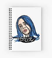 Блокнот Billie Eilish 7