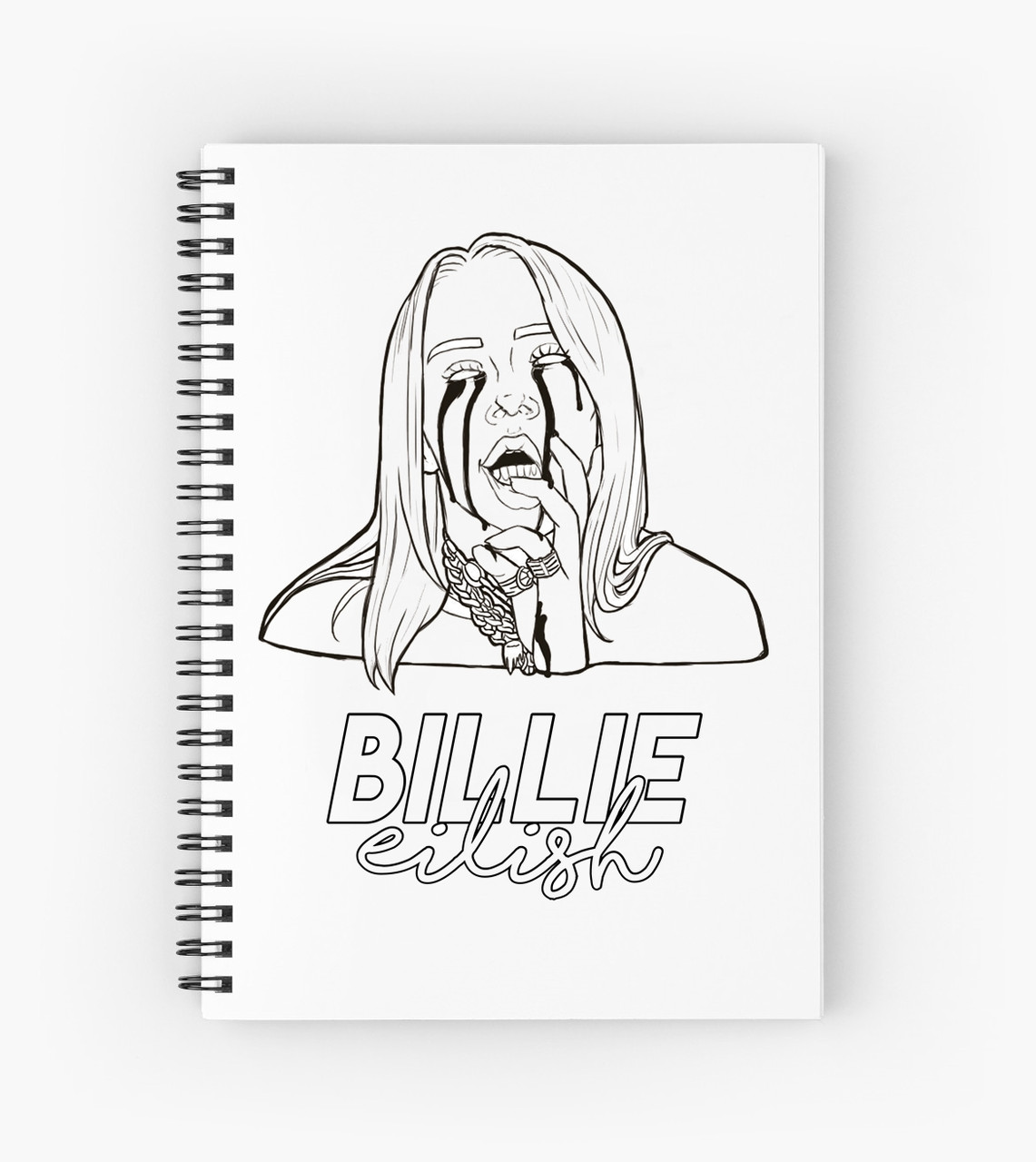 Блокнот Billie Eilish 8