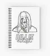 Блокнот Billie Eilish 8