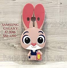 Чехол Зверополис для Samsung Galaxy J7 2016 (SM-J710)