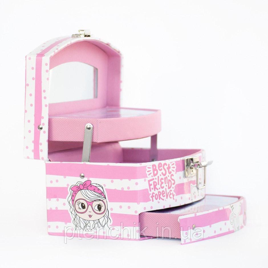 Набор  детской косметики Martinelia Лучшие друзья навсегда Розовый кейс (30422)