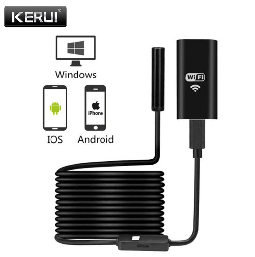 WiFi USB ендоскоп бороскоп 3.5 m камера 720p HD для iPhone Android Windows