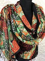 Шарфы-палантины с этническим принтом