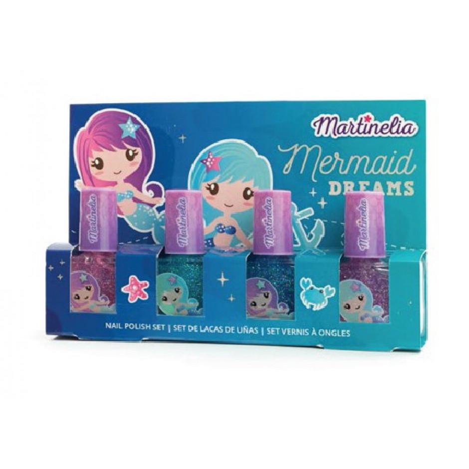 Набір Martinelia Русалонька дитячі лаки для нігтів 4 шт (30401)