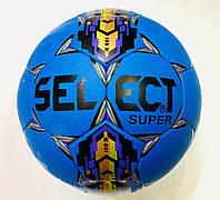 Мяч футзал №4  SUPER  синий (без отскока)