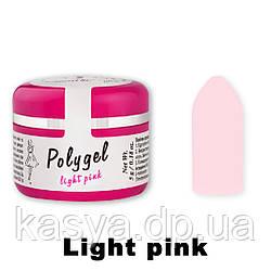 Полигель FaYno Professional Light Pink(светлый розовый), 5 г