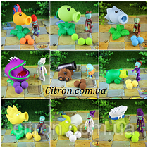 Іграшки Рослини проти зомбі Plants vs zombies, Рюкзак-мішок від 5 наборів в подарунок