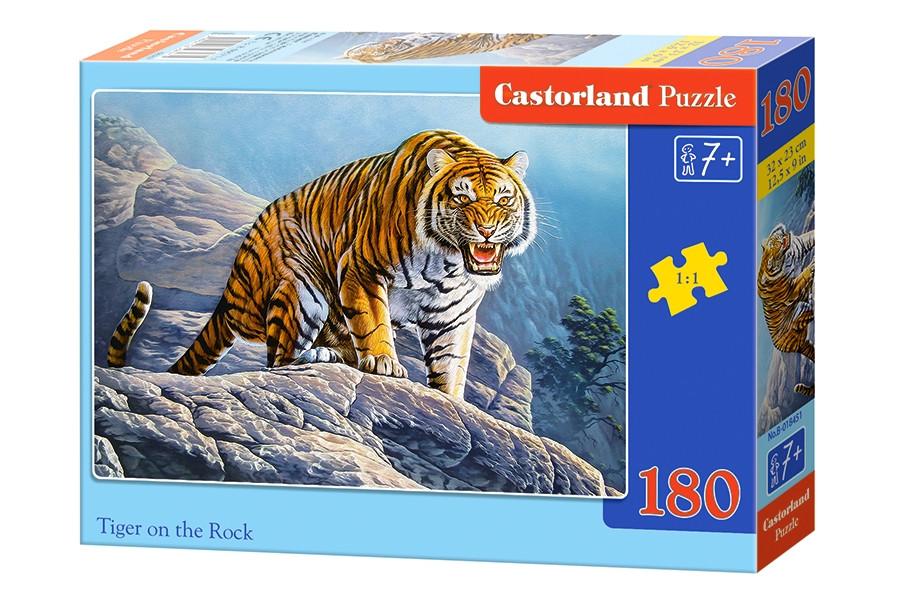 """Пазли 180 елементів. """"Тигр на скелі"""""""