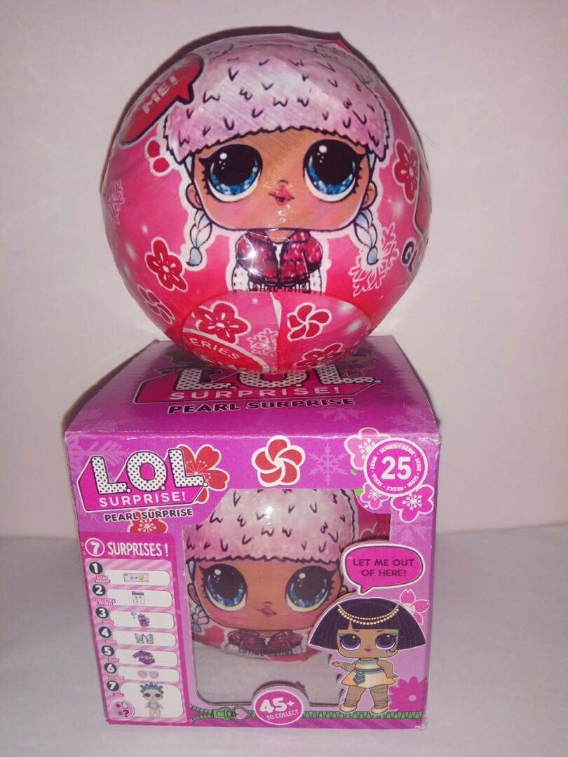 Кукла  L.O.L. Pearl Surprise шар series 25