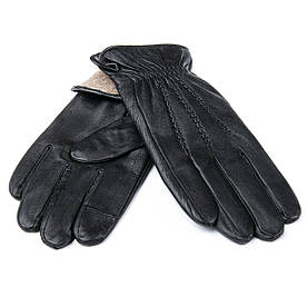 Рукавичка Чоловіча шкіра M21/19-1 мод1 black шерсть