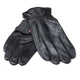 Рукавичка Чоловіча шкіра M21/19-1 мод2 black шерсть