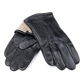 Рукавичка Чоловіча шкіра M21/19-1 мод4 black шерсть