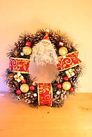 Новогодние венки новорічні вінки віночок ялинкові прикраси
