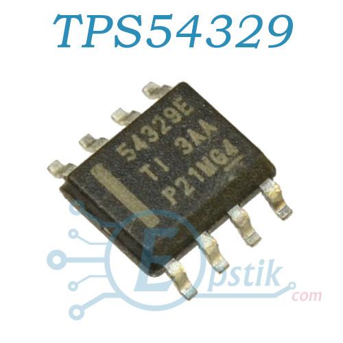 TPS54329EDDA, DC/DC преобразователь, 3A, 18V, 650KHz, SOP8