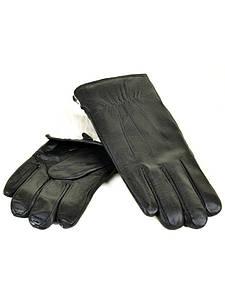 Рукавичка Чоловіча шкіра M23-18 мод1 black кролик Розпродаж