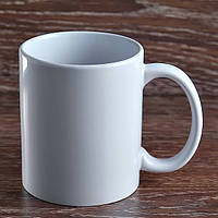 Чашка сублимационная белая.STANDART+(АB)/330мл