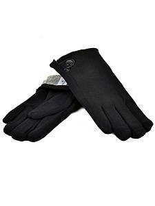 Перчатка Мужская стрейч M1/17 мод5 black махра Распродажа