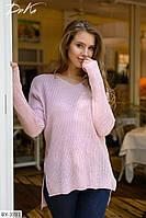 Стильный зимний свитер вязка арт 200
