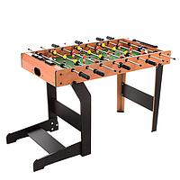 Футбол 20245T в дерев'яному корпусі, на ніжках, по 4 штанги у гравця| 101 * 51 * 68 см