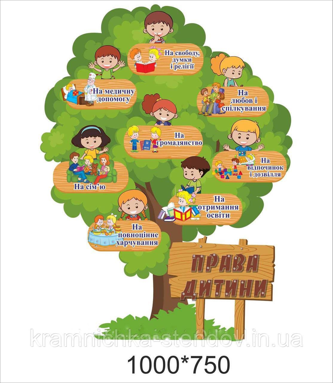 Права ребенка для школы и детского сада