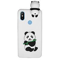 Чехол Cartoon 3D Case для Xiaomi Mi A2 / Mi 6X Панда, фото 1