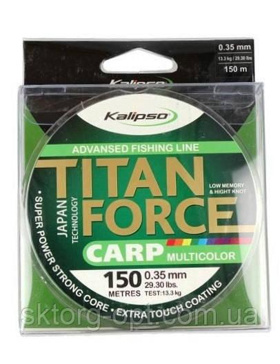 Леска Kalipso Titan Force Carp MC 150м  0.28мм