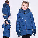 Детская зимняя куртка с митенками бренда X-Woyz  размеры 116- 164, фото 7