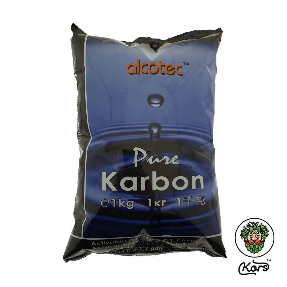 Уголь минеральный активированный Alcotec Pure Carbon