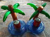 Надувной подстаканник пальма