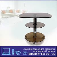Журнальный стол Bravo KV bbb chr, фото 1