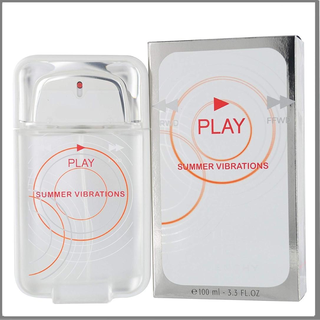 Play Summer Vibrations туалетная вода 100 ml. (Мужские Плей Саммер Вибрацион)
