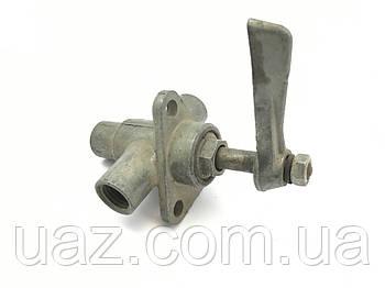 Кран топливный в сборе (бензобака) УАЗ (ПП6-2) СССР