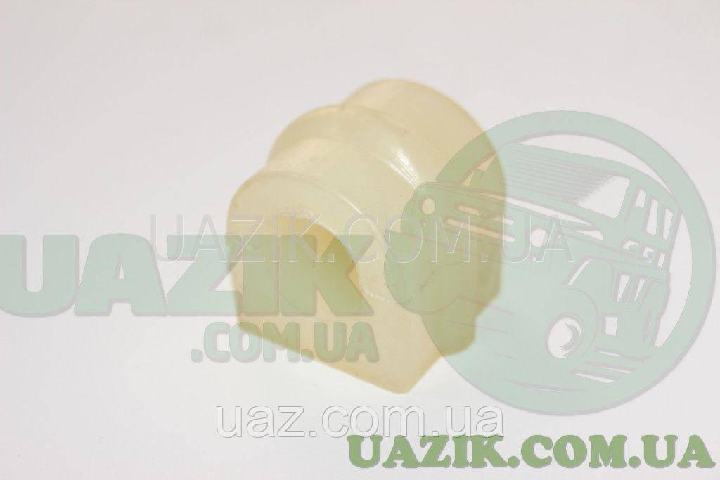 Подушка (втулка)стабилизатора УАЗ PATRIOT d27 (L=43 мм.) ПОЛИУРЕТАН