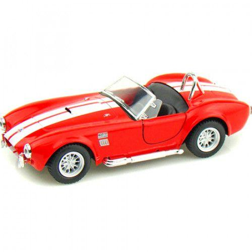 Машинка KINSMART Shelby Cobra 427 (красная) KT5322W