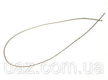 Трубка тормозная от центрального соединителя к соединительной муфте УАЗ 452 (2310 мм, ОБМЕДН.)