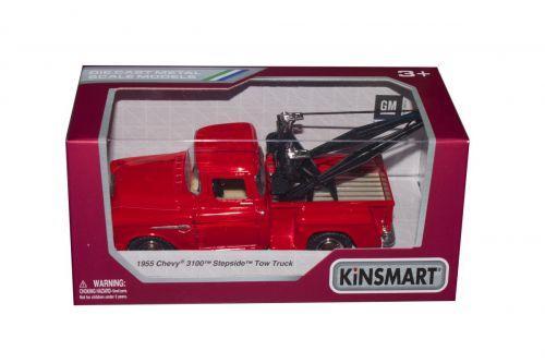 Машинка KINSMART Chevy 3100 Stepside Tow Truck (красный) KT5378W