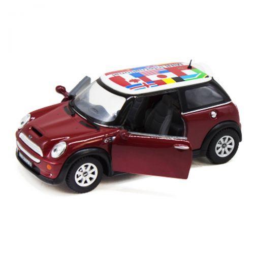 Машинка KINSMART Mini Cooper S (красная) KT5059FW
