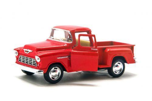 Машинка KINSMART Chevy Stepside (красная) KT5330W