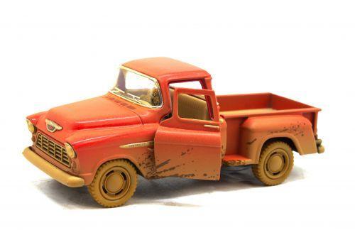 Машинка KINSMART Chevrolet Stepside Pickup (красная) KT5330WY
